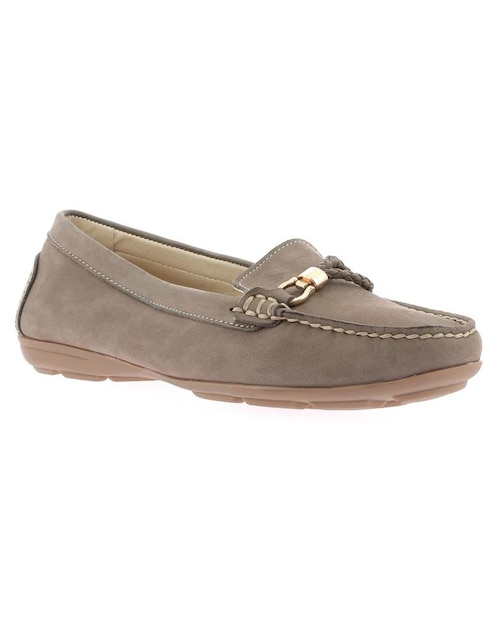 d5d94588762 Zapato Hush Puppies piel taupe