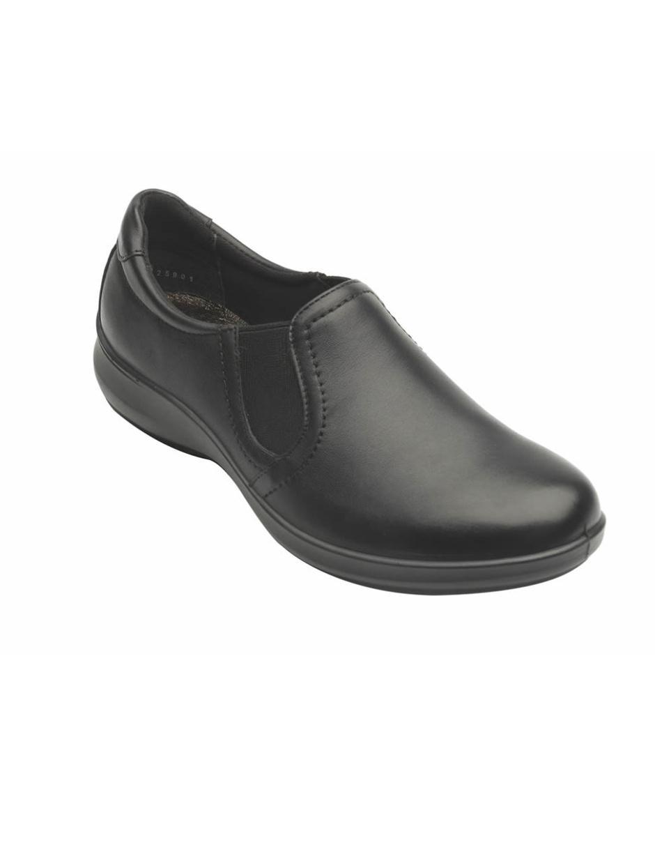 f5e36d8fe4d52 Zapato liso Flexi de piel