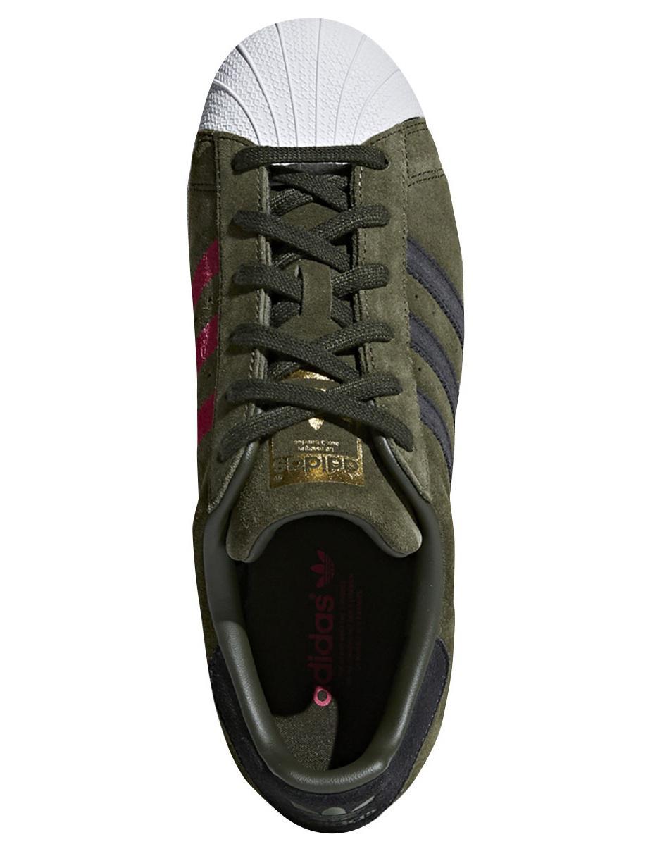 zapatillas adidas verde caqui