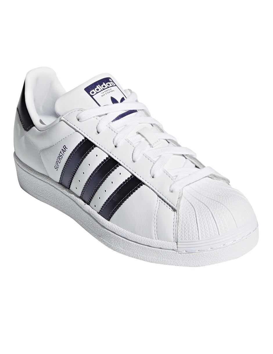 ingresos Corea Oh  Tenis liso Adidas Originals Superstar piel blanco en Liverpool