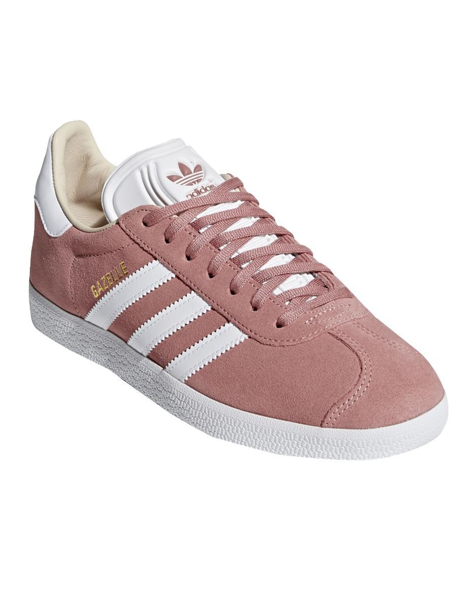 Rosa Adidas Originals Gamuza Liso Gazelle Tenis fXqRBAX
