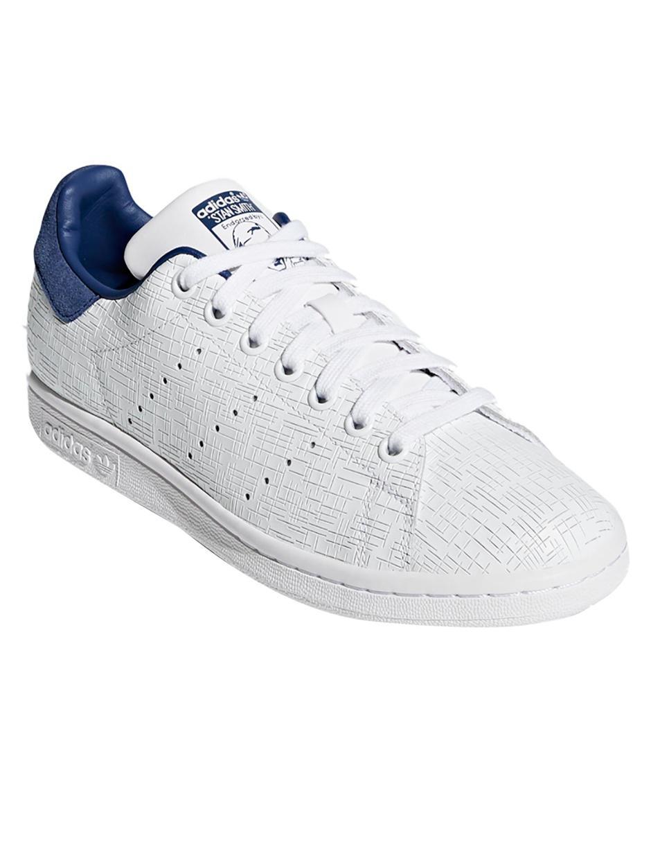adidas stan smith blanco y gris
