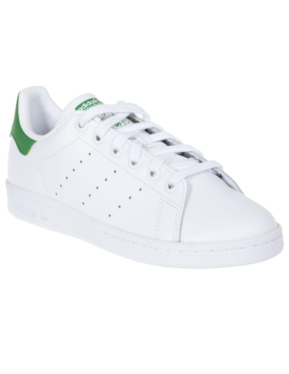 best website 72a03 ce7d5 Tenis liso Adidas Originals Stan Smith piel blanco