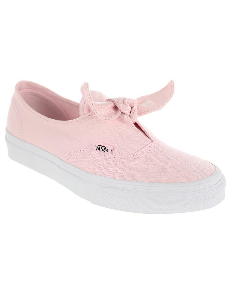 63ecd6c905 Tenis liso Vans rosa claro