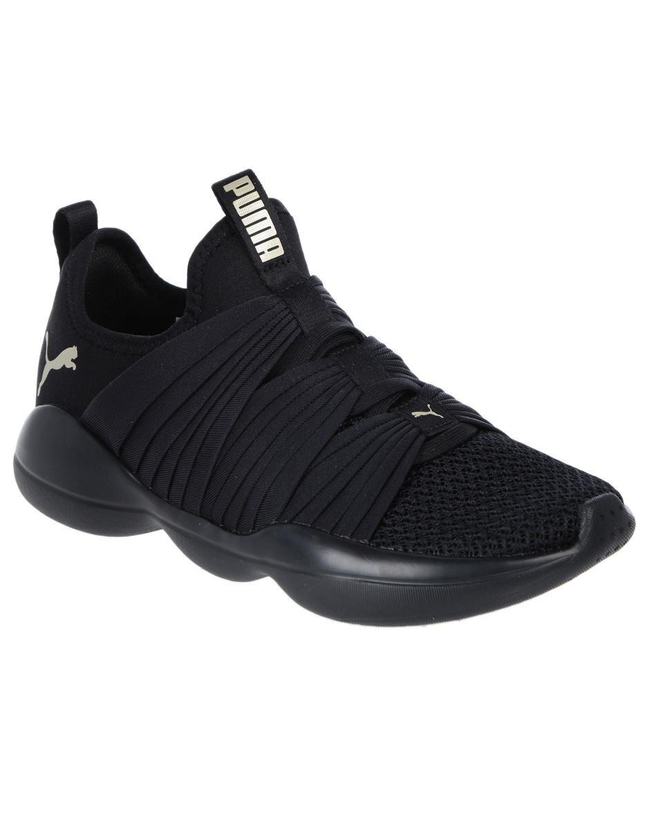 7a369dc4d81 Tenis Puma negro tejido deportivo Precio Lista