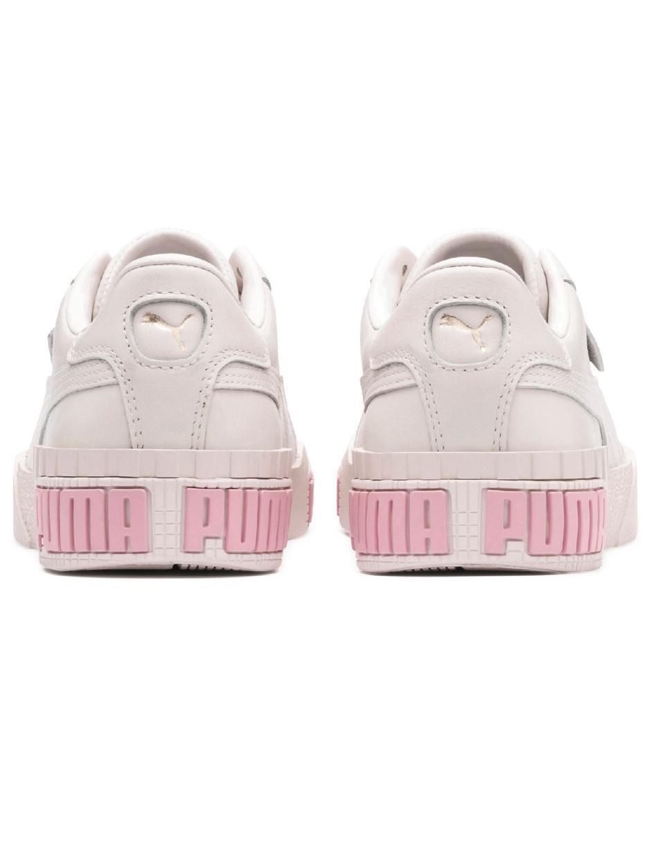 Tenis Puma Cali Bold rosa casual
