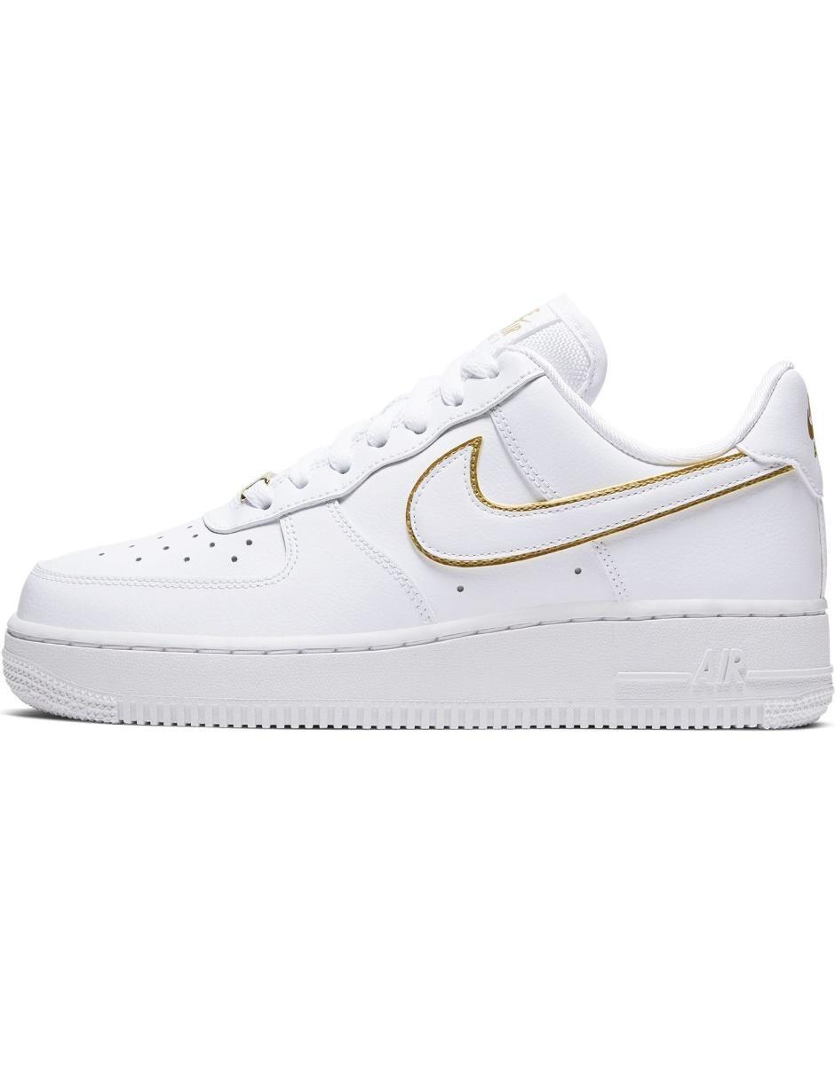 solamente Amedrentador Automático  Tenis Nike Air Force 1 07 Essential piel blanco en Liverpool