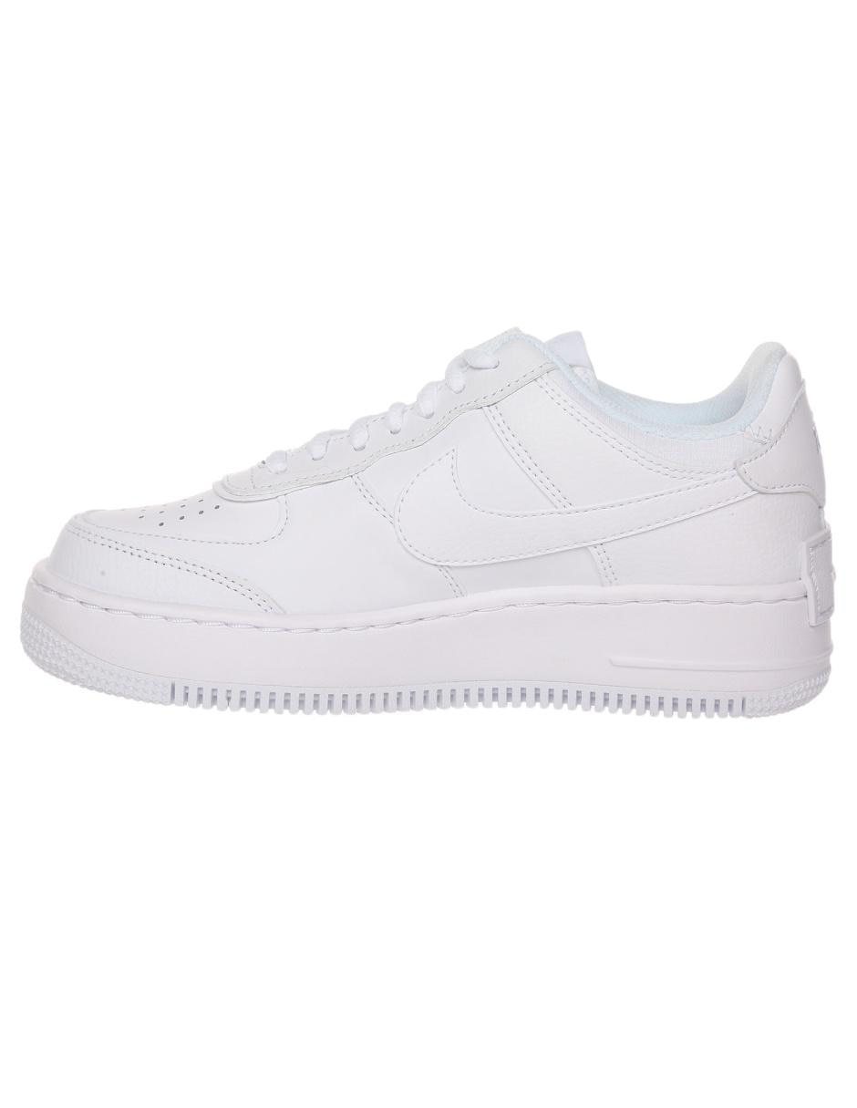 Tenis Nike Air Force 1 Shadow blanco