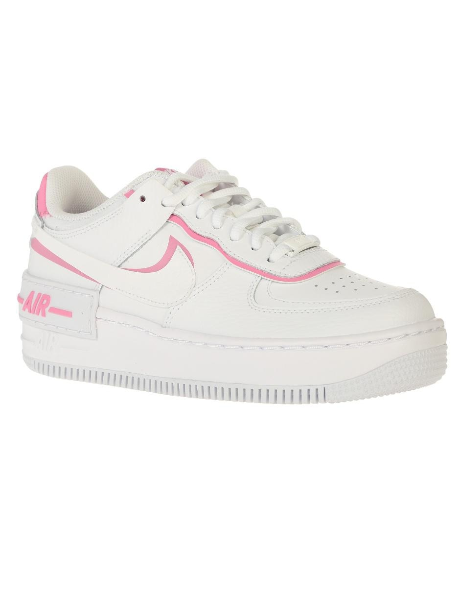 Tenis Nike Air Force 1 Shadow piel blanco